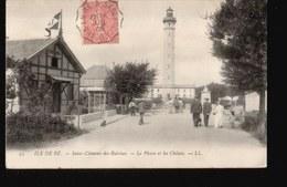 17/051....ILE DE RE ...SAINT CLEMENT LES BALEINES ...LE PHARE - Ile De Ré