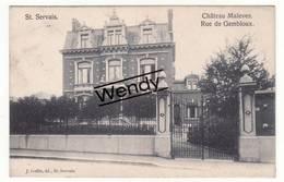 Saint-Servais (château Malevez - Rue De Gembloux) - Namen