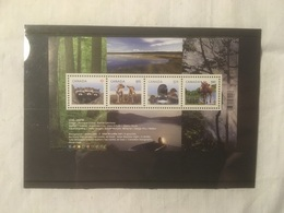 Canada 2012 Scott #2504 ** Baby Wildlife $4.75 SS - Blocks & Kleinbögen