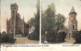 Diegem Tieghem - Villa St Arnoldi à Louer Rue De L'Est (Van Cortenbergh Fils, Gekleurd, 1902) - Diegem