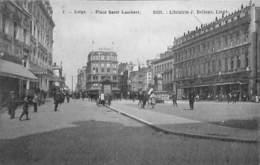 Liège - Place Saint Lambert (Edit. Librairie J. Bellens, Top Animation) - Luik