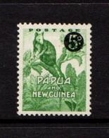 PAPUA  NEW  GUINEA    1959    5d  On  1/2d  Emerald    MH - Papua New Guinea