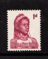 PAPUA  NEW  GUINEA    1961    1d  Lake    MNH - Papua New Guinea