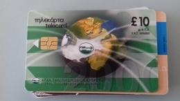 TELECARTE CHYPRE 10 £ - 07/2000 - Chypre