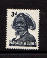 PAPUA  NEW  GUINEA    1961    3d  Indigo    MH - Papua New Guinea