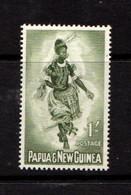 PAPUA  NEW  GUINEA    1961    1/-  Bronze  Green    MH - Papua New Guinea