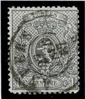 +MW-4302      ANVERS    Dubbel Cirkel  OCB  23 - 1866-1867 Petit Lion