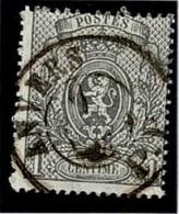 +MW-4303      ANVERS  PP    Dubbel Cirkel  OCB  23 - 1866-1867 Petit Lion