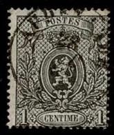 +MW-4304      AUDENARDE   Dubbel Cirkel  OCB  23 - 1866-1867 Petit Lion