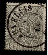+MW-4305      AUVELAIS   Dubbel Cirkel  OCB  23 - 1866-1867 Petit Lion