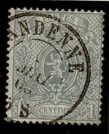+MW-4306      ANDENNE     Dubbel Cirkel  OCB  23 - 1866-1867 Petit Lion