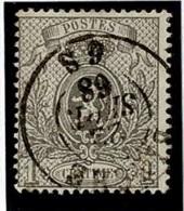 +MW-4307      BINCHE     Dubbel Cirkel  OCB  23 - 1866-1867 Petit Lion
