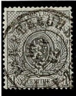 +MW-4310      BERCHEM LEZ ANVERS   Dubbel Cirkel  OCB  23 - 1866-1867 Petit Lion