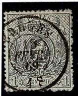 +MW-4314   BRUGES   Dubbel Cirkel  OCB  23 - 1866-1867 Petit Lion