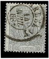 +MW-4315   CHARLEROY   Dubbel Cirkel  OCB  23 - 1866-1867 Petit Lion