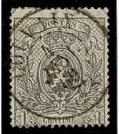 +MW-4316   COUVIN   Dubbel Cirkel  OCB  23 - 1866-1867 Petit Lion