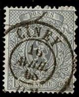 +MW-4317   CINAY   Dubbel Cirkel  OCB  23 - 1866-1867 Petit Lion