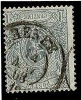 +MW-4318   CHENEE   Dubbel Cirkel  OCB  23 - 1866-1867 Petit Lion