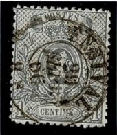 +MW-4322   ENSIVAL   Dubbel Cirkel  OCB  23 - 1866-1867 Petit Lion