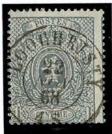 +MW-4323   LOOCHRISTY   Dubbel Cirkel  OCB  23 - 1866-1867 Petit Lion