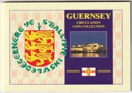 GUERNSEY - COIN SET 2003 - 8 Coins - Guernesey