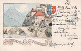 Châteaux Suisses St Maurice - VS Wallis