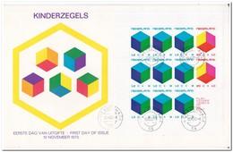 Nederland 1970, FDC, Children Stamps, Complete Sheet - FDC