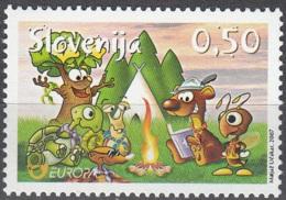 Slovenija 2007 Yvert 587 Neuf ** Cote (2015) 2.50 Euro Europa CEPT Le Scoutisme - Slovénie