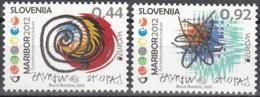 Slovenija 2012 Yvert 791 - 792 Neuf ** Cote (2015) 4.20 Euro Europa CEPT Tourisme Maribor - Slovénie