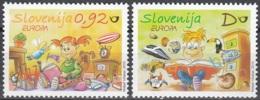 Slovenija 2010 Yvert 703 -704 Neuf ** Cote (2015) 4.30 Euro Europa CEPT Les Livres Pour Enfants - Slovénie