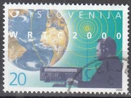 Slovenija 2000 Michel 306 O Cote (2006) 1.50 Euro 50 Ans Cercle Des Radioamateurs Cachet Rond - Slovénie