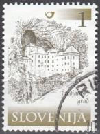 Slovenija 2000 Michel 298 O Cote (2006) 0.10 Euro Château De Predjama Cachet Rond - Slovénie
