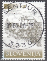 Slovenija 2000 Michel 299 O Cote (2006) 0.10 Euro Château De Velenje Cachet Rond - Slovénie