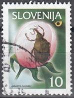 Slovenija 2000 Michel 302 O Cote (2006) 0.20 Euro Coléoptère L'anthonome Du Pommier Cachet Rond - Slovénie