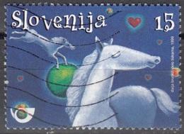 Slovenija 1999 Michel 251 O Cote (2006) 0.50 Euro Cheval Blanc - Slovénie