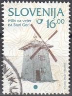 Slovenija 1999 Michel 254 O Cote (2006) 0.50 Euro Moulin à Stara Gora Cachet Rond - Slovénie