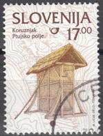 Slovenija 1999 Michel 260 O Cote (2006) 0.30 Euro Touraillage De Mais à Ptujsko Polje Cachet Rond - Slovénie
