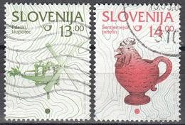 Slovenija 1997 Michel 205 O Cote (2006) 0.30 Euro Cruche De Vin Cachet Rond - Slovénie