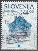 Slovenija 1993 Michel 42 O Cote (2006) 1.00 Euro Maison à Kraska Cachet Rond - Slovénie