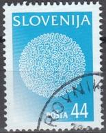 Slovenija 1997 Michel 201 O Cote (2006) 0.70 Euro Dentelle De Idria Cachet Rond - Slovénie