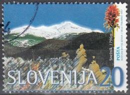 Slovenija 1997 Michel 175 O Cote (2006) 0.80 Euro Montagne Sneznik Cachet Rond - Slovénie