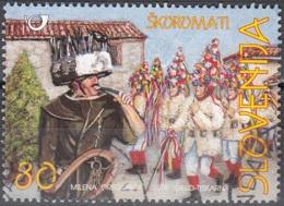 Slovenija 1999 Michel 253 O Cote (2006) 1.10 Euro Costumes Traditionnels De Brkini Cachet Rond - Slovénie