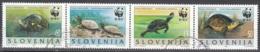 Slovenija 1996 Michel 131 - 134 O Cote (2006) 3.50 Euro WWF Tortue Des Marais Cachet Rond - Slovénie