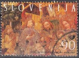Slovenija 1998 Michel 241 O Cote (2006) 1.30 Euro Les Rois Mages Cachet Rond - Slovénie