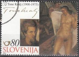 Slovenija 2000 Michel 325 O Cote (2006) 1.10 Euro Tone Kralj Judith Cachet Rond - Slovénie