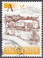 Slovenija 2000 Michel 317 O Cote (2006) 0.40 Euro Château D'Otocec Cachet Rond - Slovénie