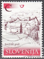 Slovenija 2001 Michel 370 O Cote (2006) 1.00 Euro Château De Brezice - Slovénie