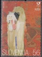 Slovenija 2002 Michel 378 O Cote (2006) 0.60 Euro Costumes Traditionnels De Ptujsko Polje Cachet Rond - Slovénie