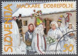 Slovenija 2001 Michel 338 O Cote (2006) 0.50 Euro Mackare De Dobrepolje Cachet Rond - Slovénie