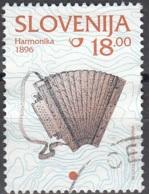 Slovenija 1999 Michel 280 O Cote (2006) 0.30 Euro Accordéon Cachet Rond - Slovénie